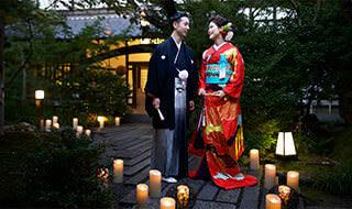 神社挙式とお色直しプラン