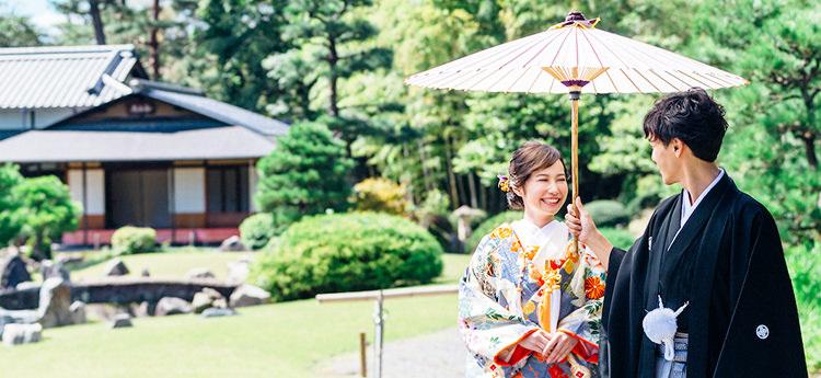 神社/仏閣挙式支度&お色直しプランのメインビジュアル