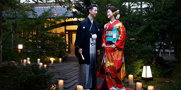 神社挙式とお色直しプランのイメージ画像