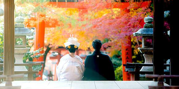 神社/仏閣挙式とロケーションのイメージ画像