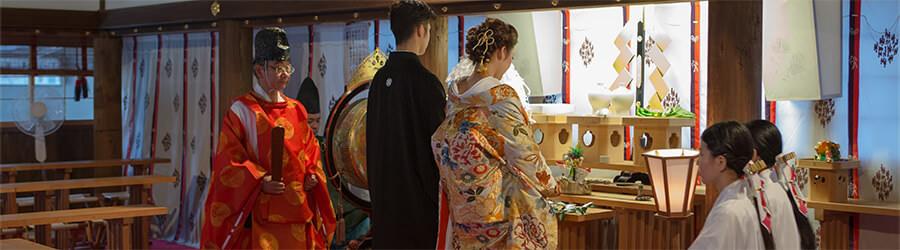 神社/仏閣挙式をお考えの方のイメージ画像
