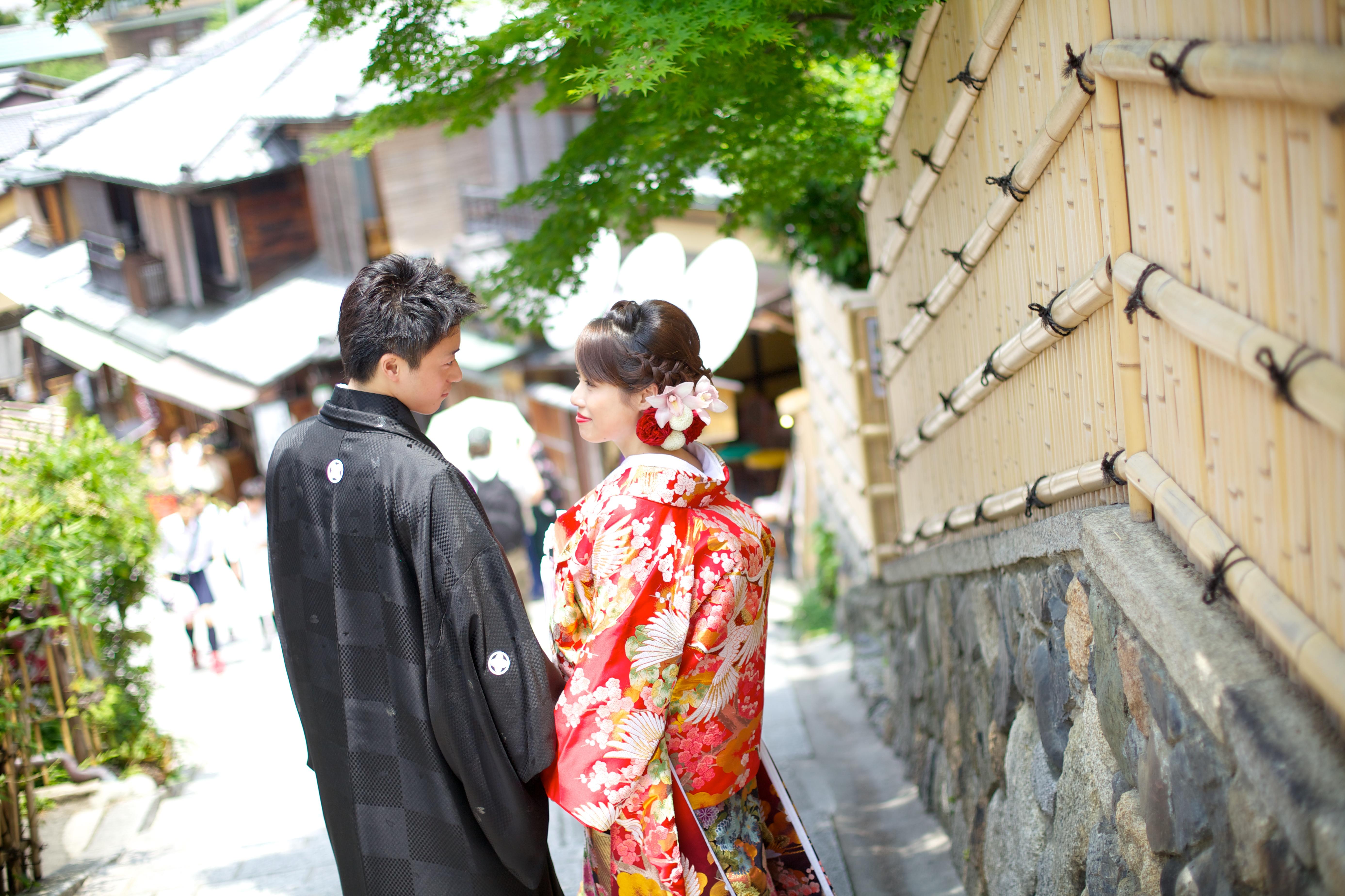 和婚 結婚式 新郎 新婦