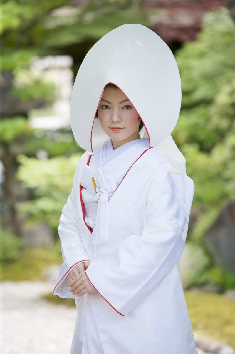 白無垢 綿帽子