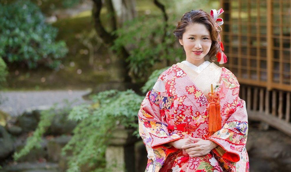 花嫁姿の髪型を 前髪なし で素敵に決めたい 京都 タガヤ和婚礼