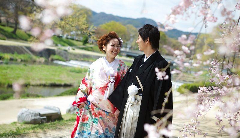 結婚式 桜