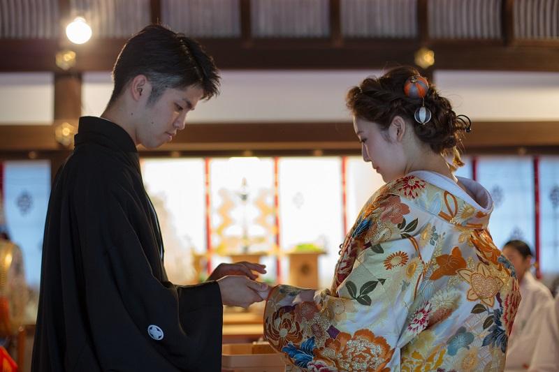 上賀茂神社 指輪交換 結婚式