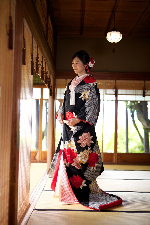 サヤ古都桜黒絞り牡丹の写真001