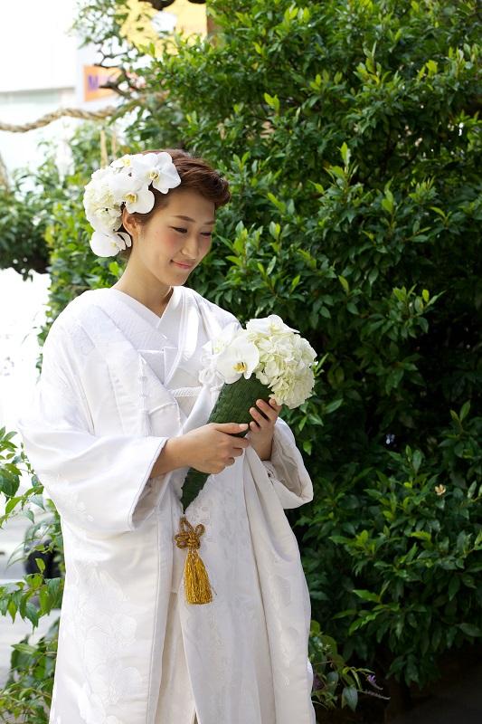 胡蝶蘭に水仙の写真003