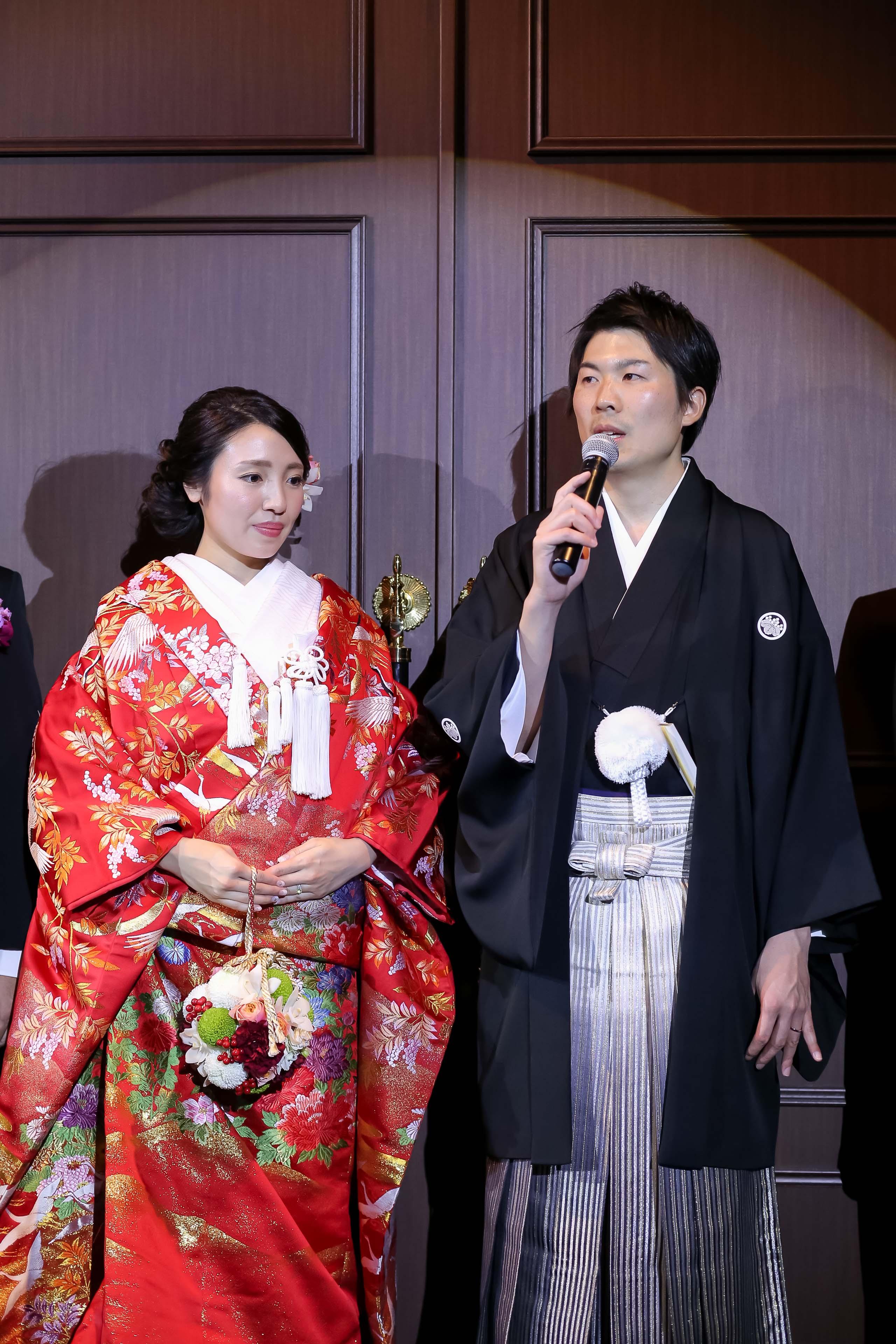 新郎 謝辞 新郎の謝辞 スピーチ 結婚式