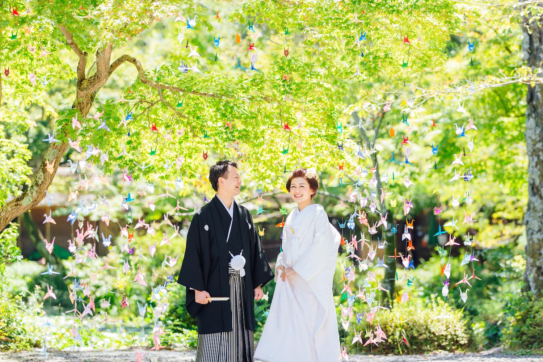 結婚式 折り紙シャワー