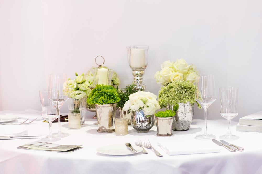 和婚 装花 白×緑