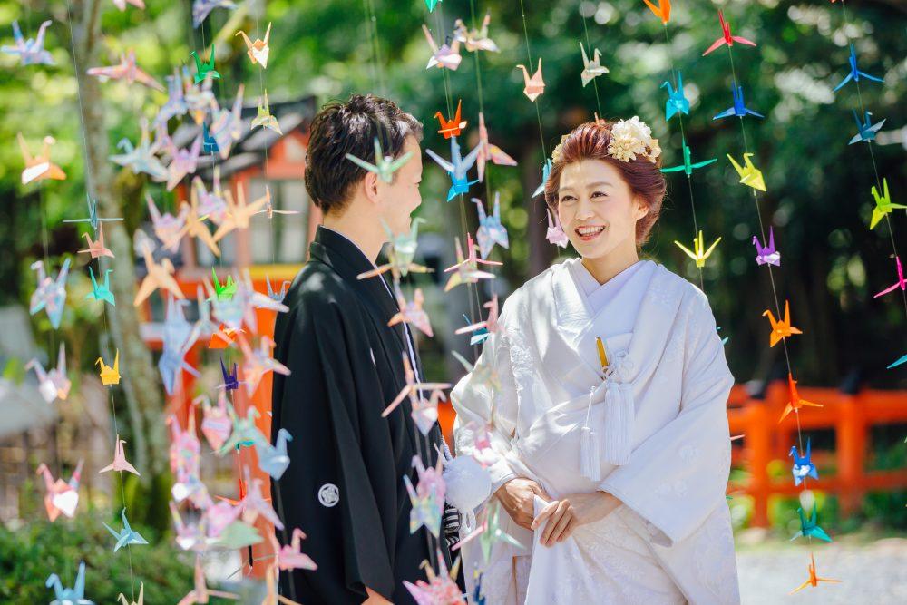 折り紙シャワー 結婚式