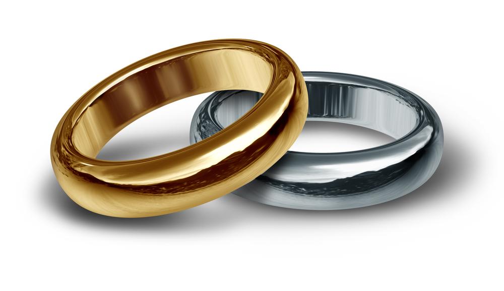 ゴールド&プラチナの結婚指輪