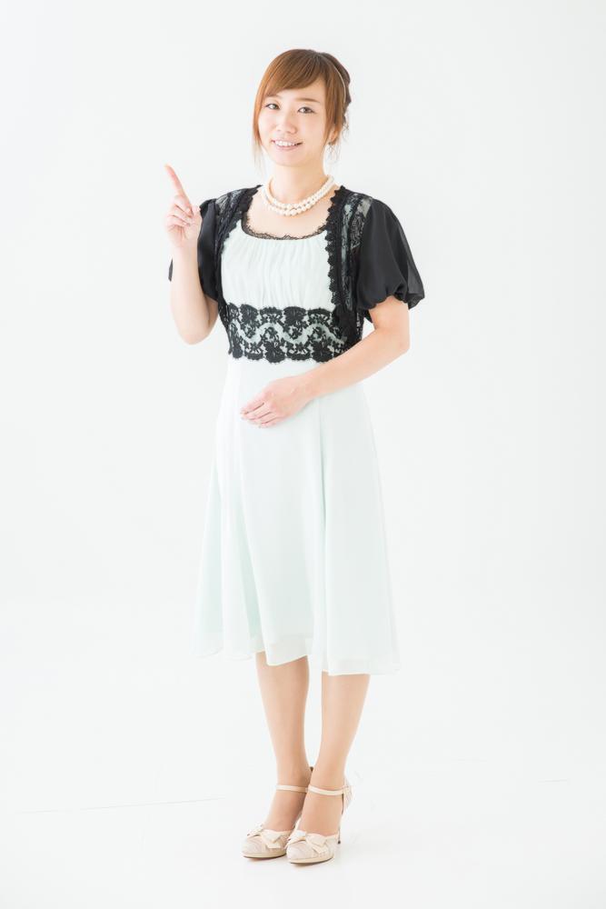 結婚式 ドレス 30代 ボレロ 服装 ゲスト