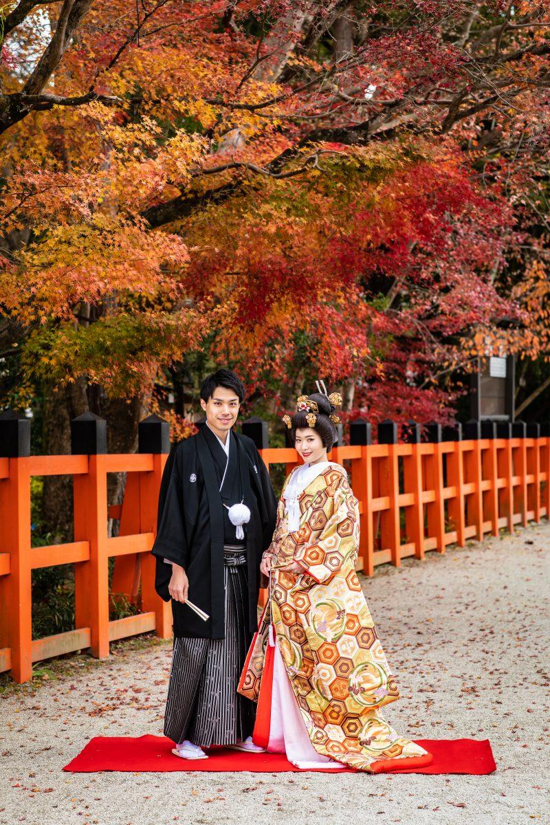 SNS 結婚報告 Twitter Facebook Instagram 色打掛 袴 写真